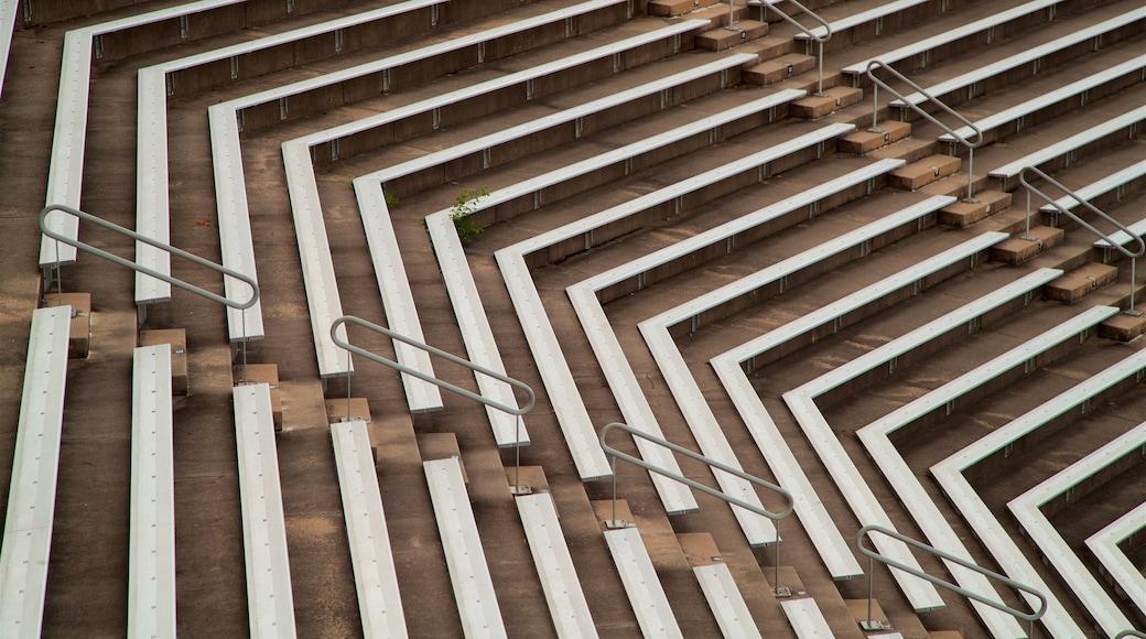 Princeton University Stadium que inclui cenas de teatro