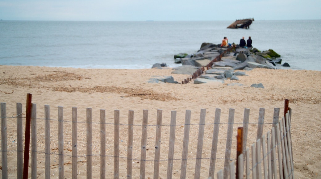 Sunset Beach featuring a sandy beach and general coastal views