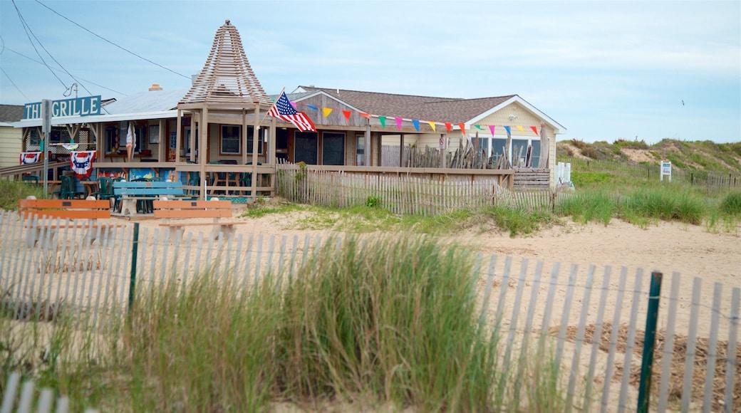 Sunset Beach featuring a sandy beach, general coastal views and a coastal town