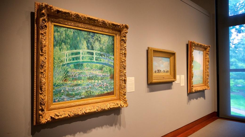 Princeton University Art Museum que inclui arte e vistas internas