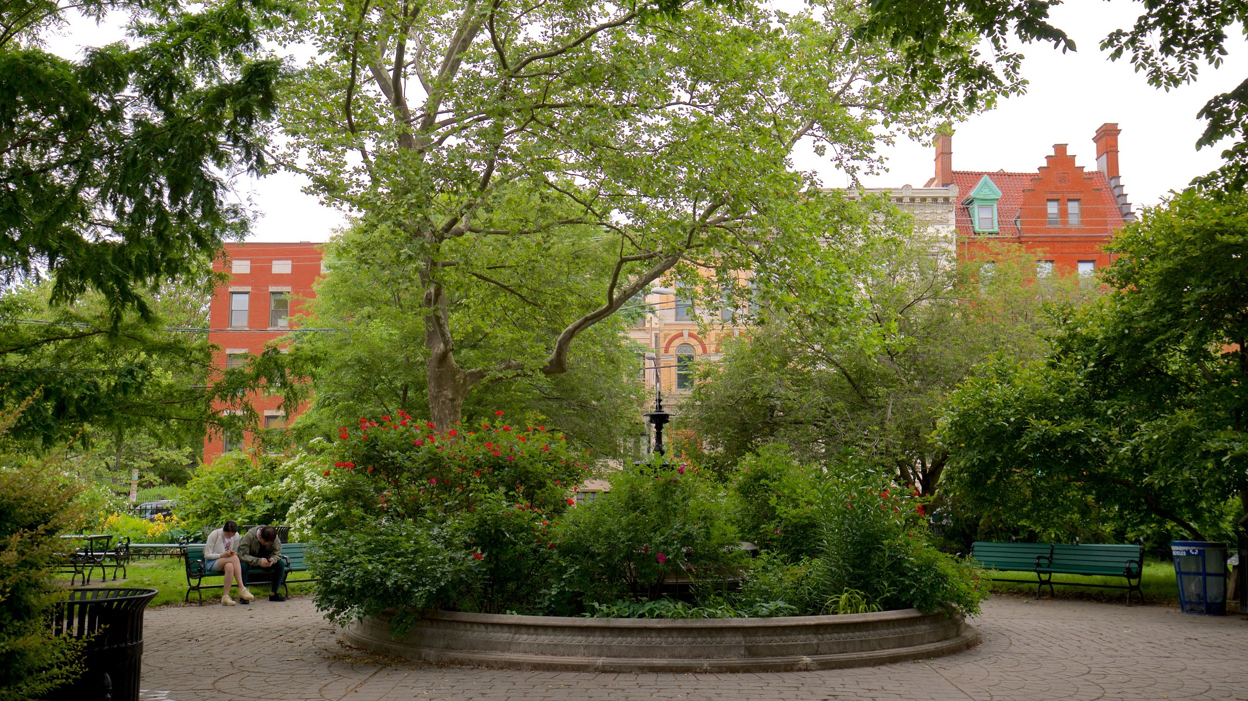 Van Vorst Park, Jersey City, Hudson County, New Jersey, United States of America