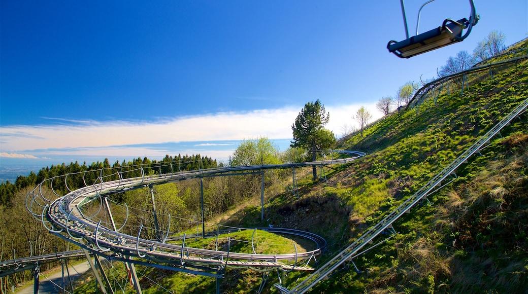 Funivia Stresa-Alpino-Mottarone caratteristiche di paesaggi rilassanti e giro