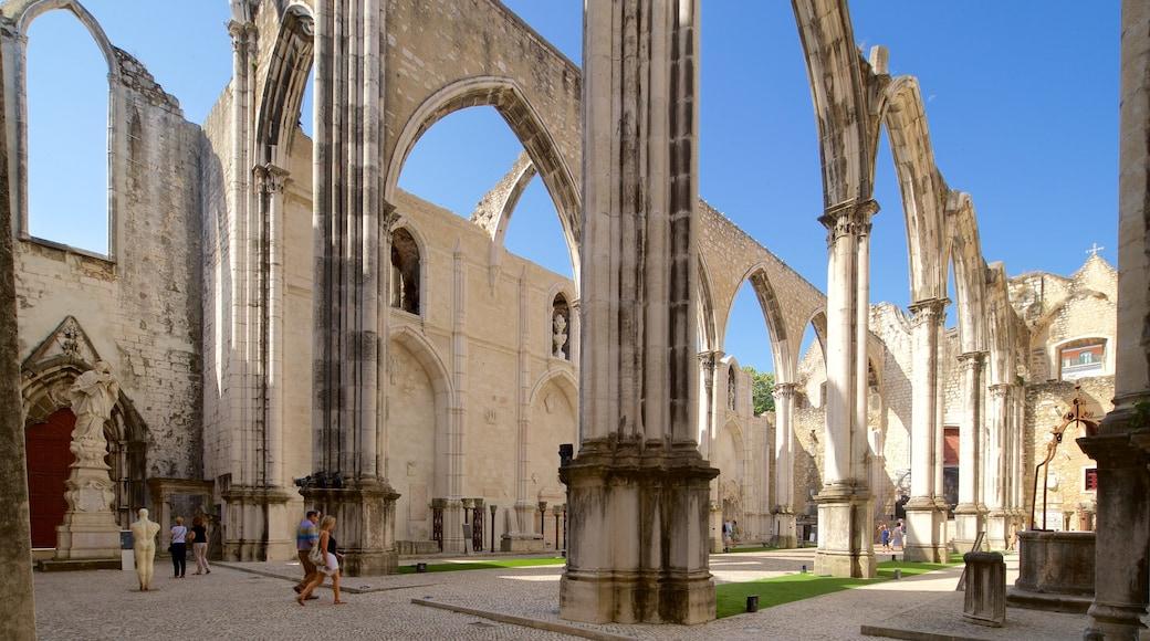 Convento do Carmo welches beinhaltet historische Architektur