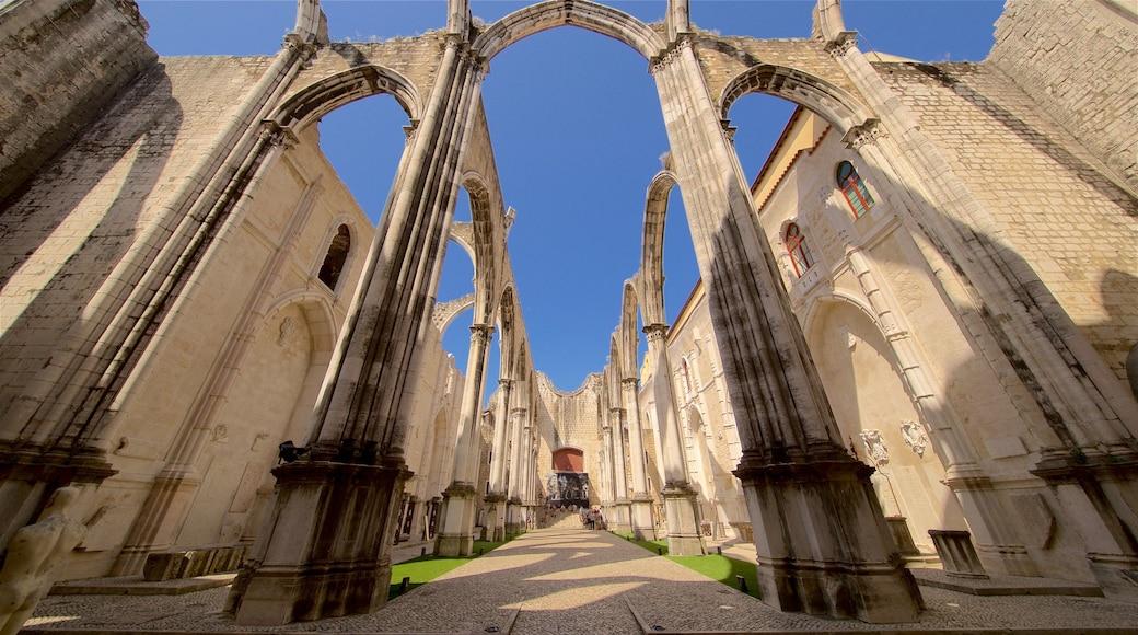 Convento do Carmo das einen historische Architektur