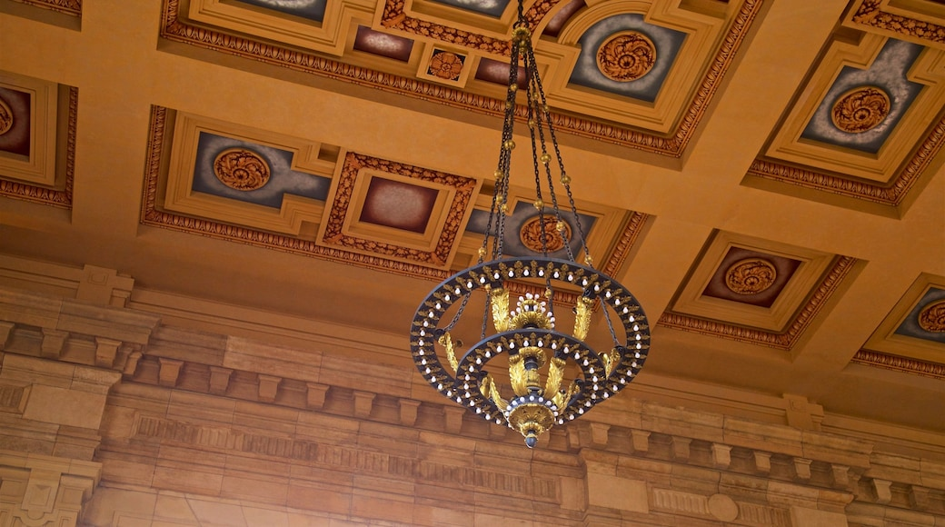 Union Station which includes interior views and heritage elements