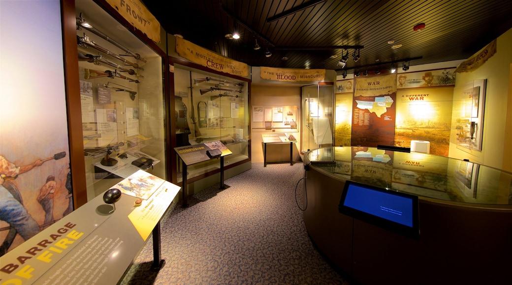 Wilsons Creek National Battlefield featuring interior views