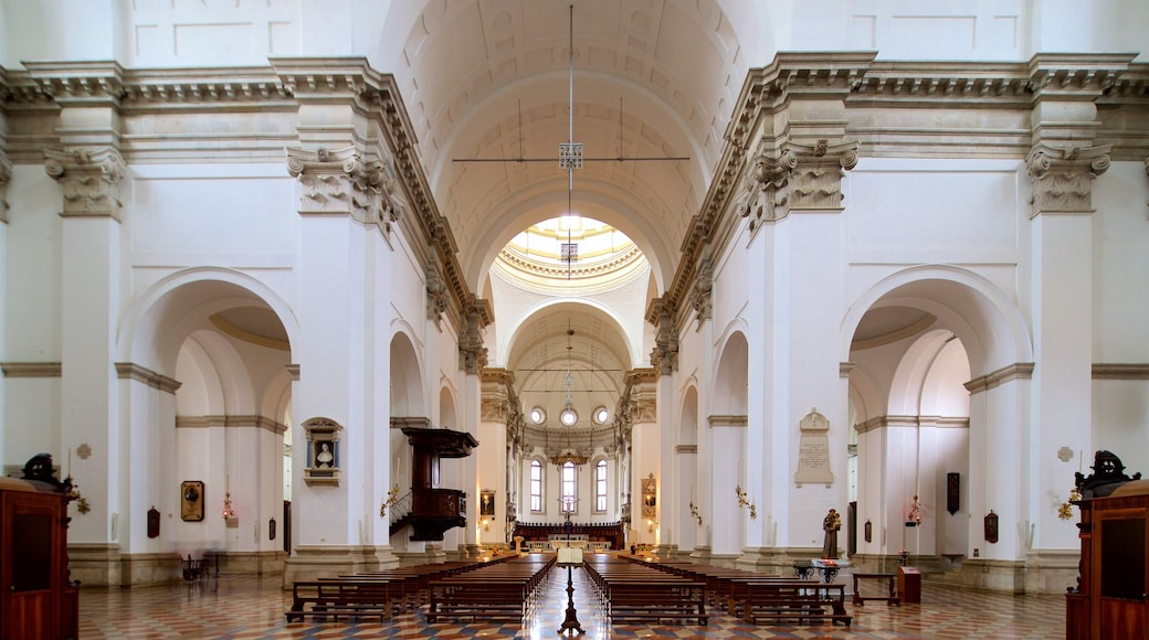 Padua Cathedral which includes a church or cathedral, interior views and heritage elements