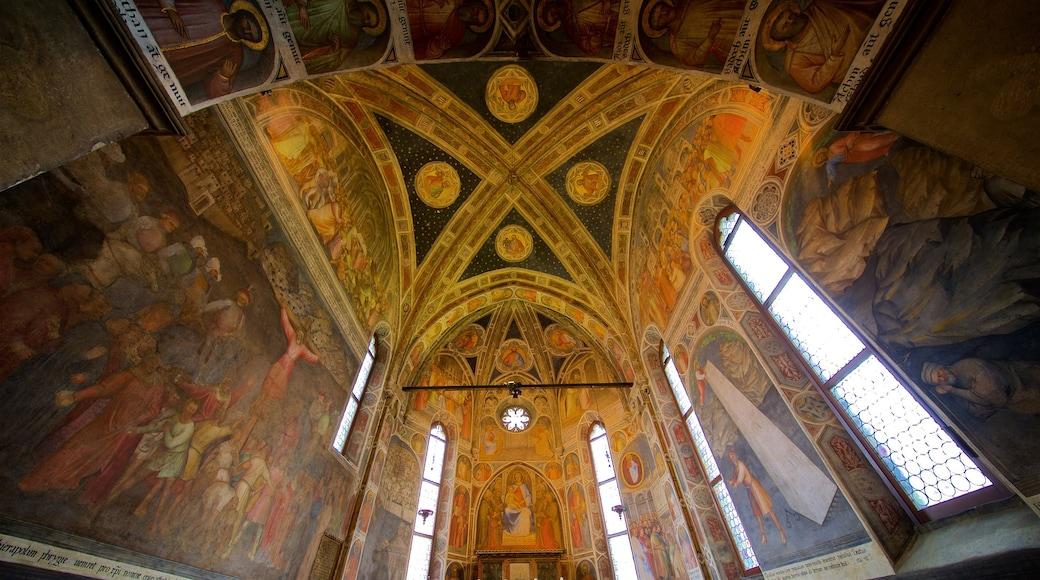 Basilica di Sant\'Antonio da Padova featuring art, religious aspects and interior views