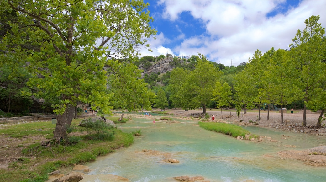 Turner Falls which includes a river or creek and tranquil scenes