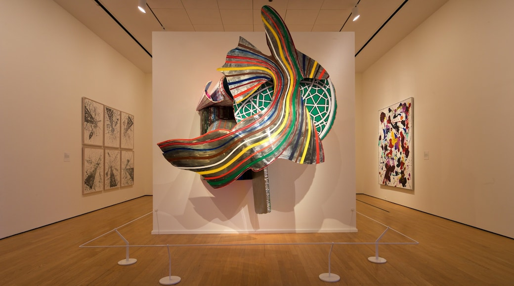 Oklahoma City Museum of Art which includes art and interior views