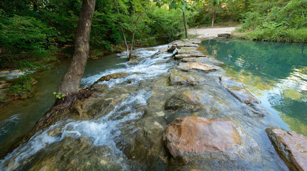 Chickasaw National Recreation Area which includes a river or creek