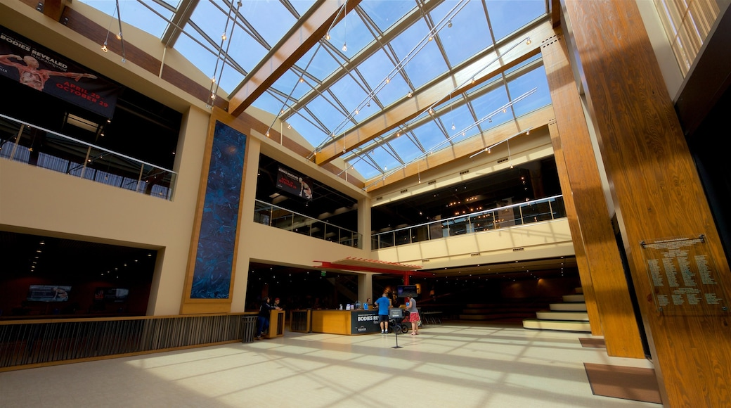 Omniplex Science Museum featuring interior views