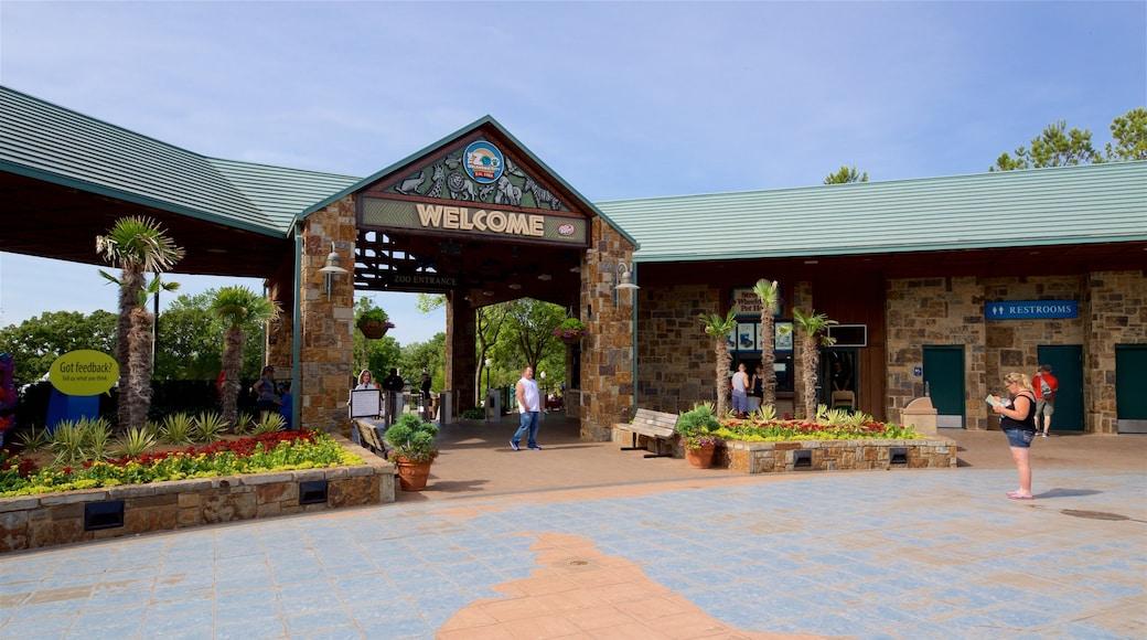 Oklahoma City Zoo featuring signage