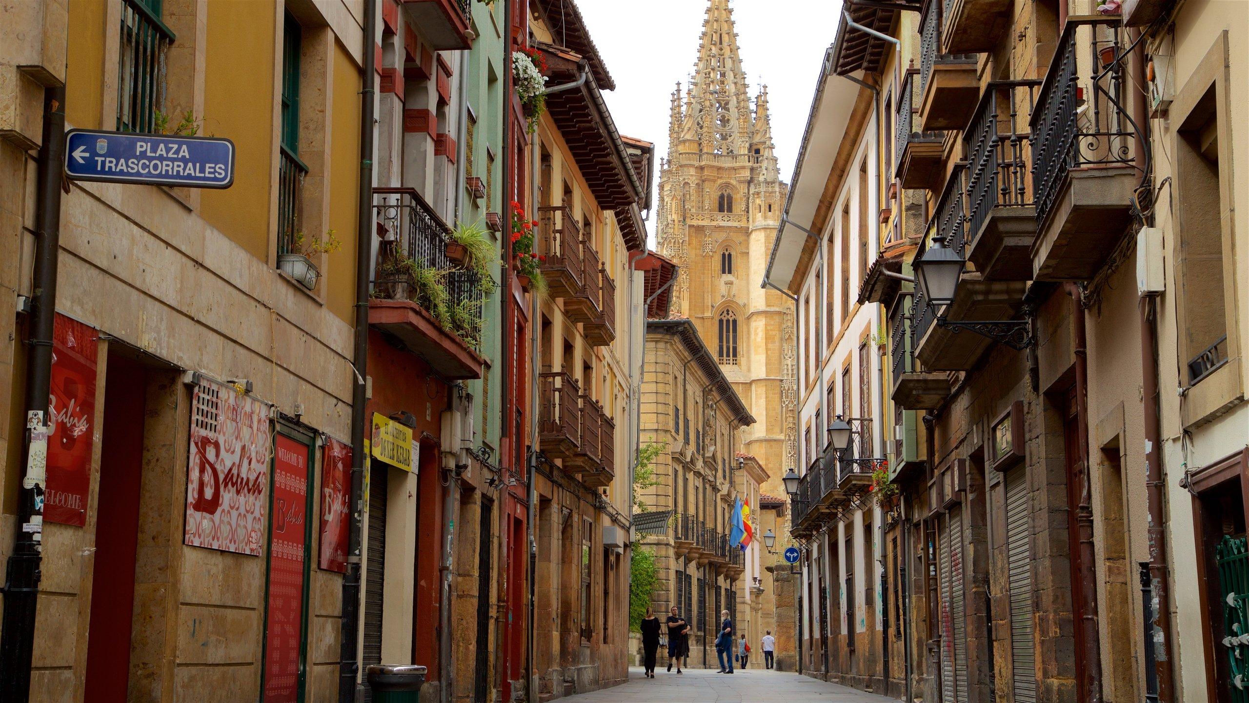 Altstadt, Oviedo, Asturias, Spanien