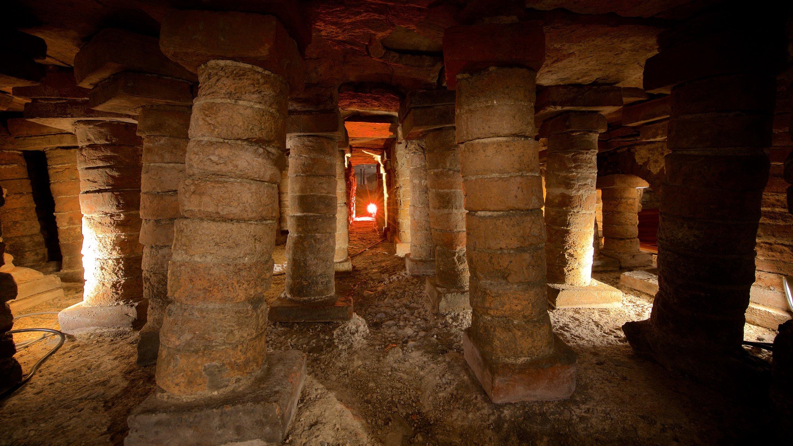Campo Valdes Roman Baths, Gijon, Asturias, Spain