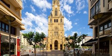 Iglesia de San Ignacio de Loyola welches beinhaltet Kirche oder Kathedrale und historische Architektur