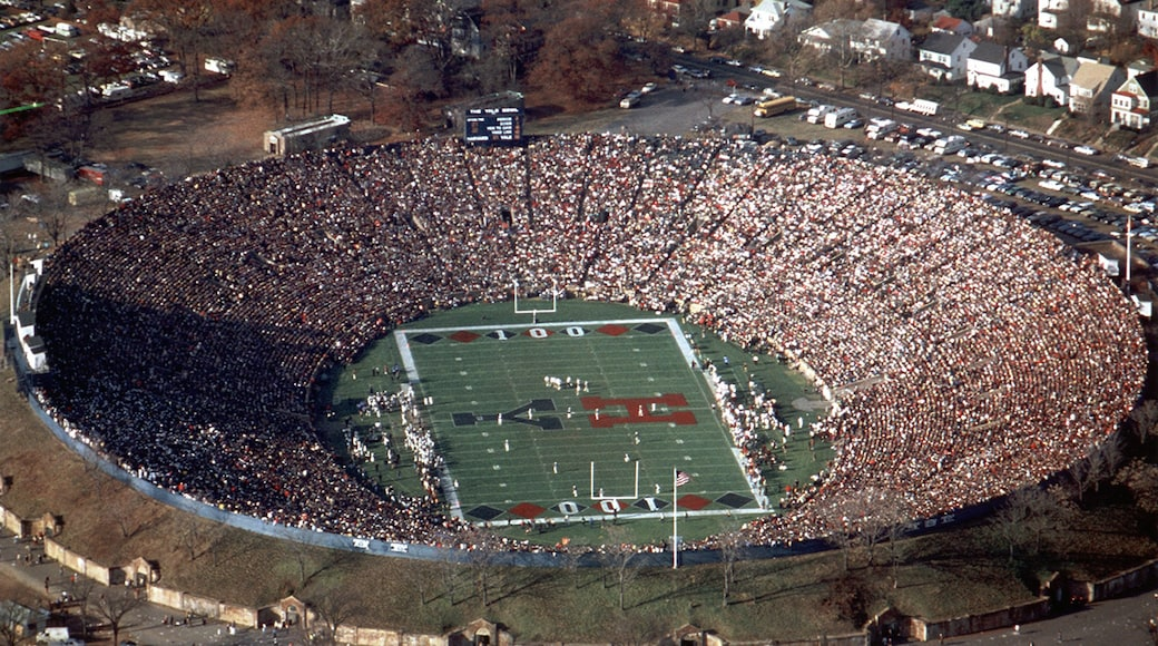 New Haven which includes a sporting event
