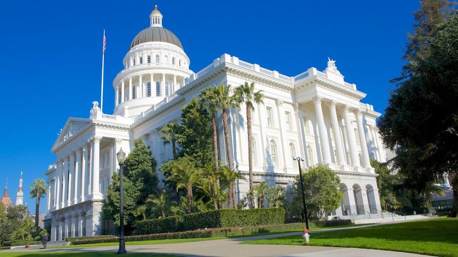Sacramento joka esittää hallintorakennus ja vanha arkkitehtuuri
