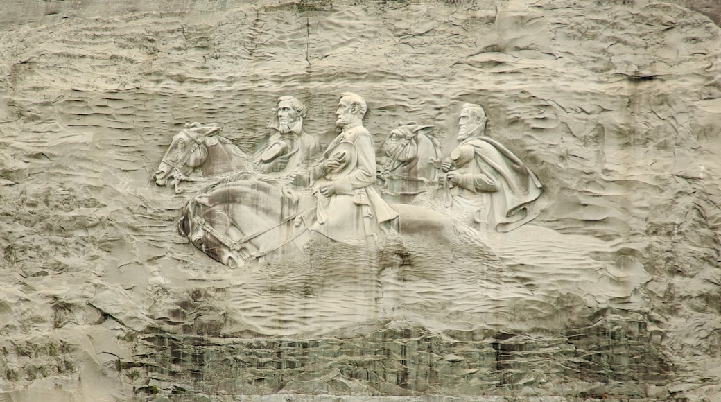 Stone Mountain Park which includes outdoor art