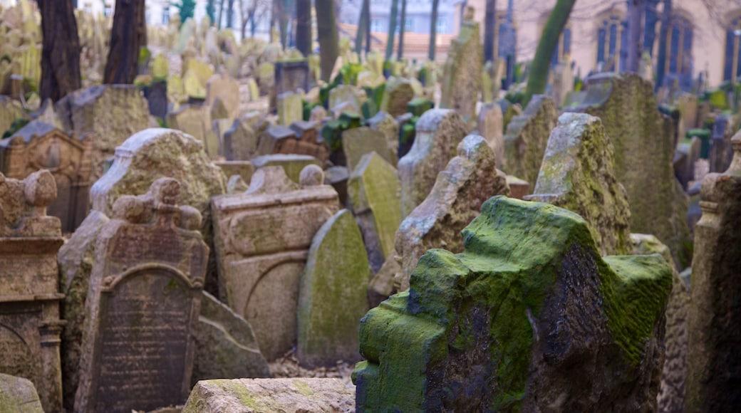 Prag welches beinhaltet Friedhof und Gedenkstätte
