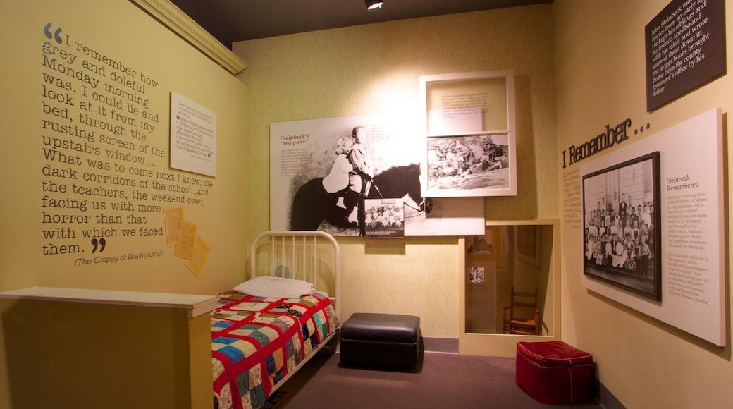 National Steinbeck Center welches beinhaltet Innenansichten