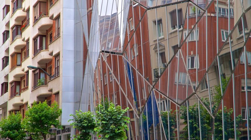 Bilbao ofreciendo arquitectura moderna