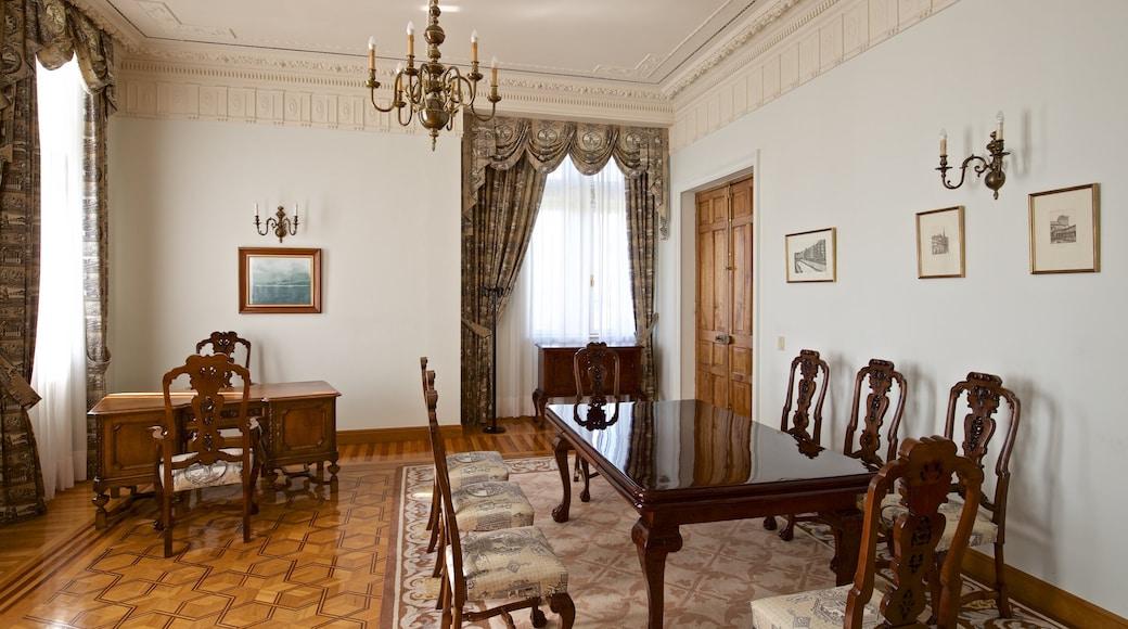 Palacio de la Magdalena which includes interior views, heritage elements and a house