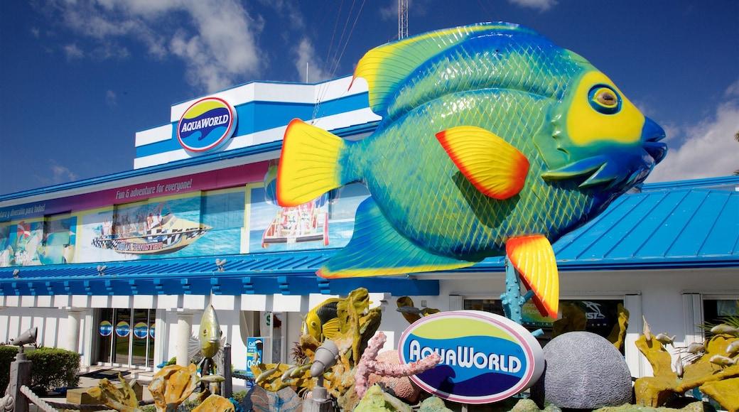 Aquaworld showing signage