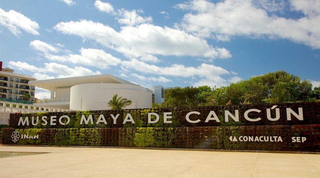 Maya Cancun Museum inclusief bewegwijzering