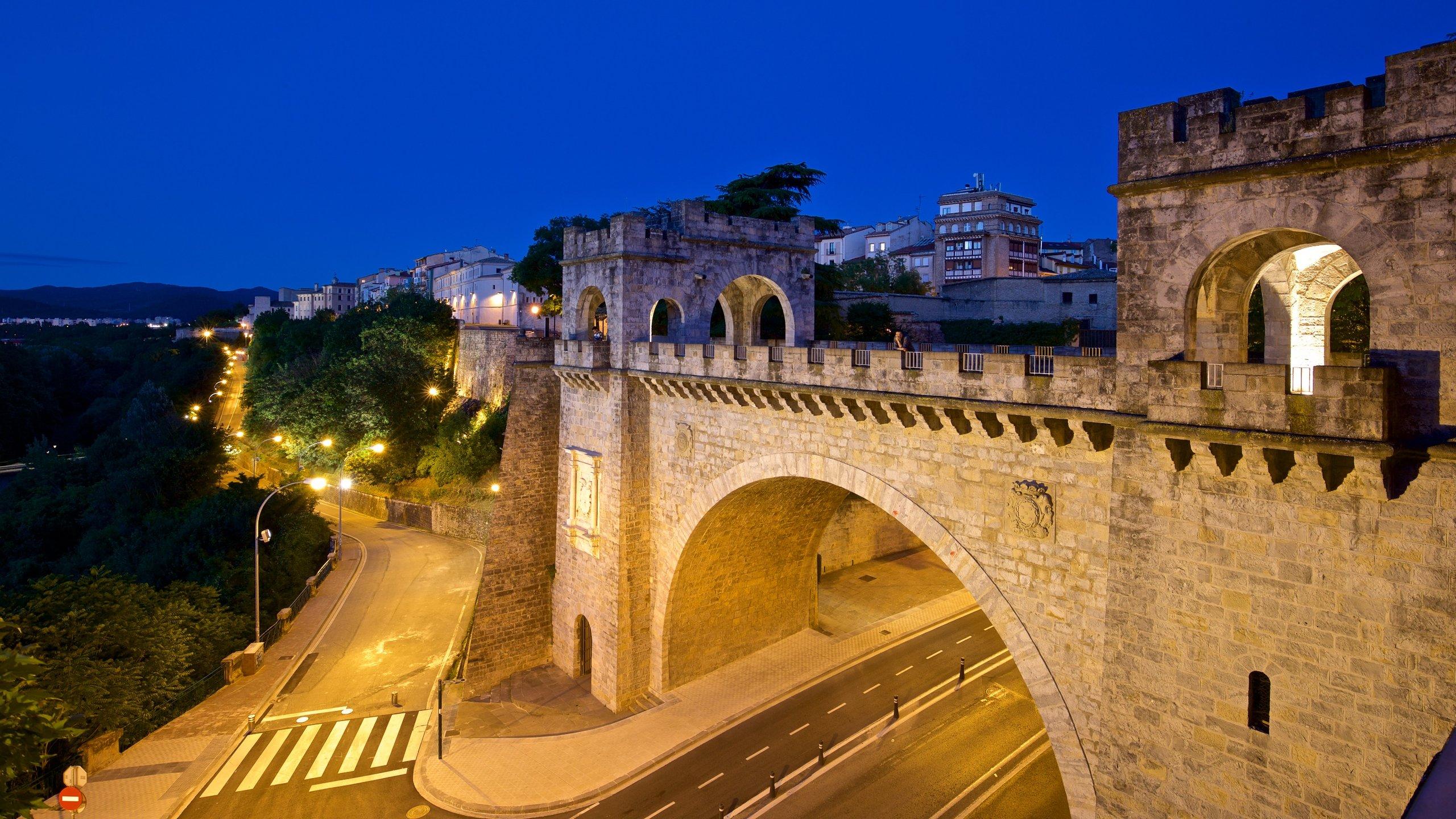 Pamplona's City Walls and Interpretation Centre, Pamplona, Navarre, Spain