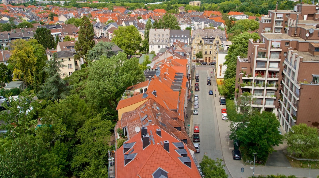 Darmstadt Artists Colony featuring a city and landscape views