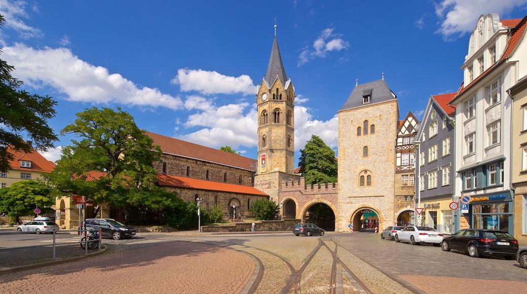 Nikolai Church Eisenach mit einem historische Architektur