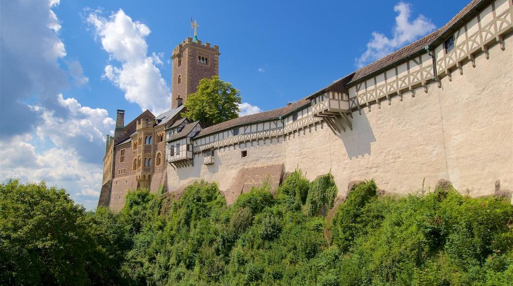 Wartburg das einen historische Architektur