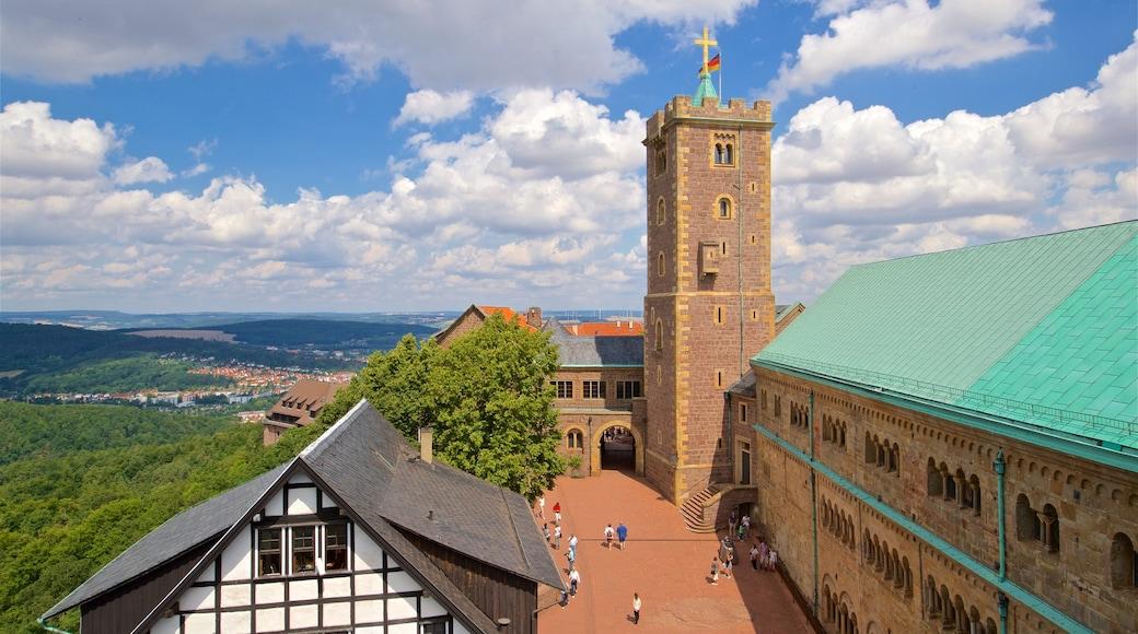 Wartburg welches beinhaltet historische Architektur, Kirche oder Kathedrale und ruhige Szenerie