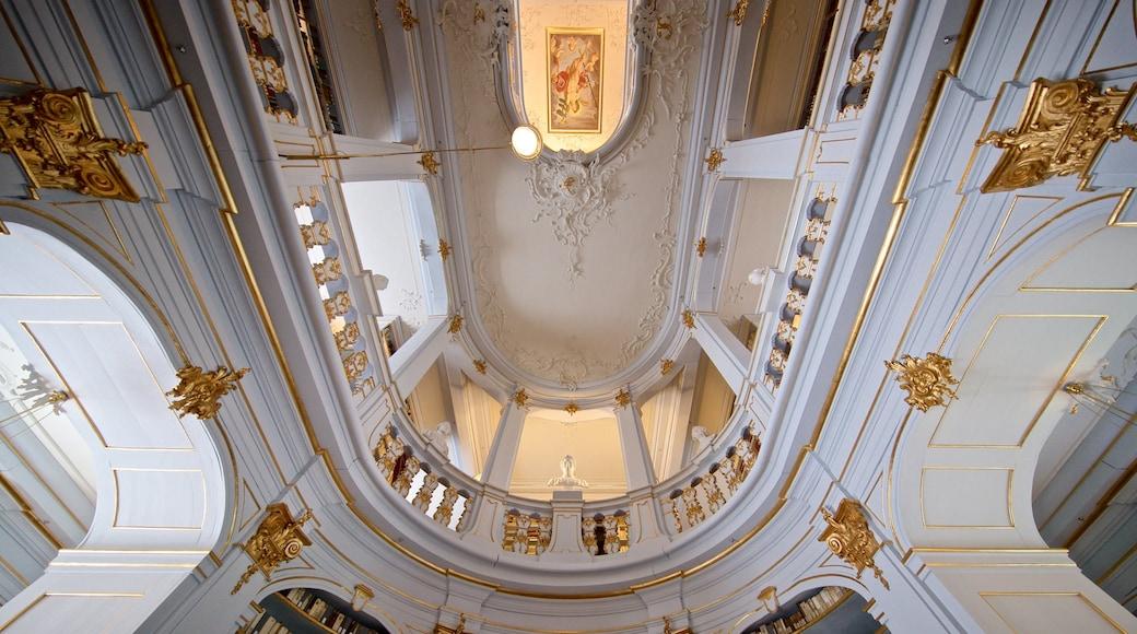 Herzogin Anna Amalia Bibliothek mit einem Geschichtliches und Innenansichten