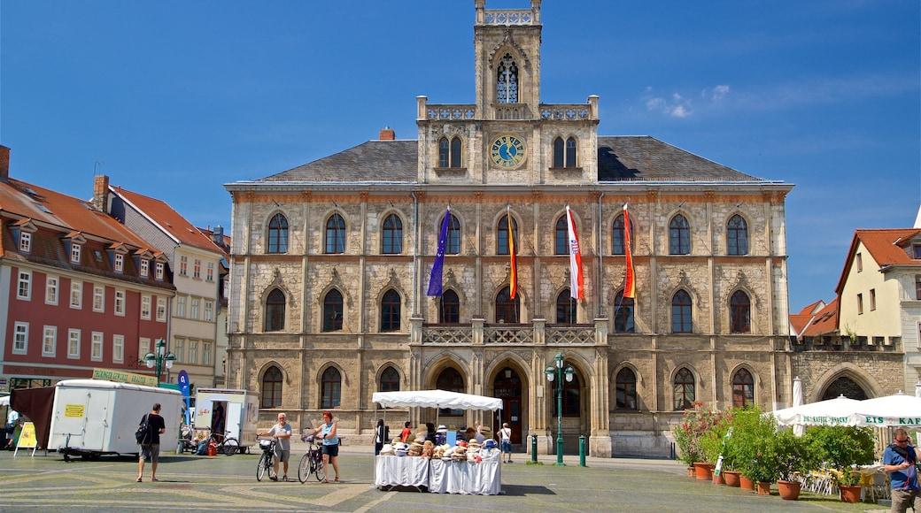 Weimar mit einem historische Architektur