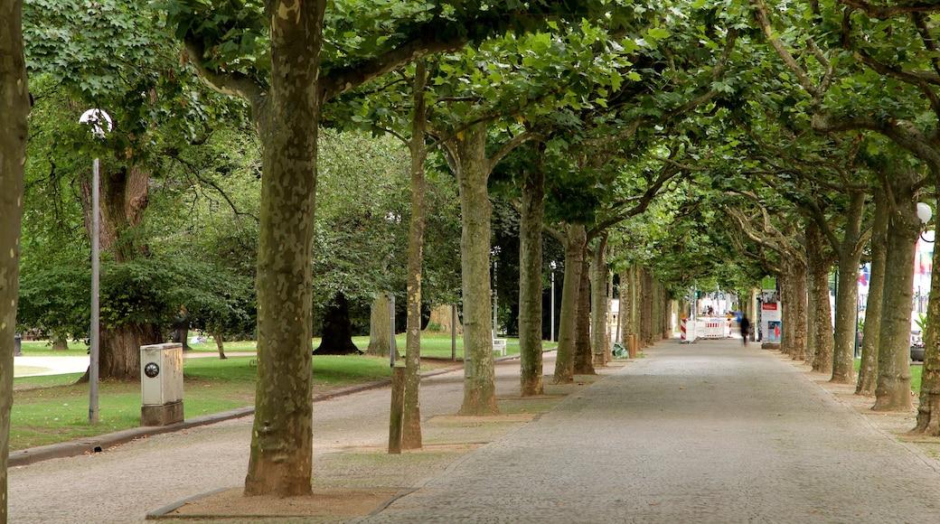 Eltville am Rhein bevat een tuin