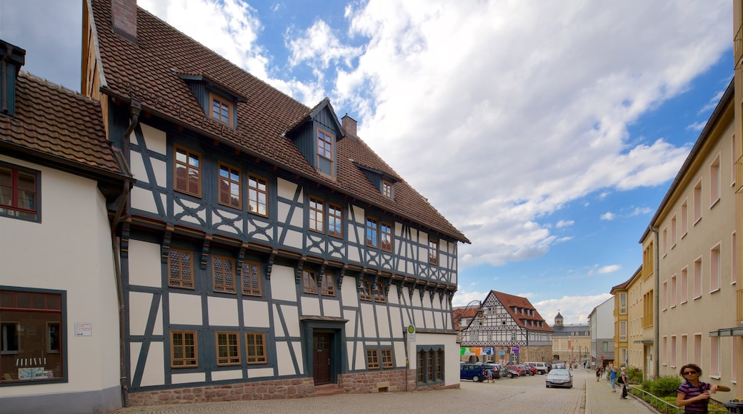 Lutherhaus mit einem Stadt und Geschichtliches