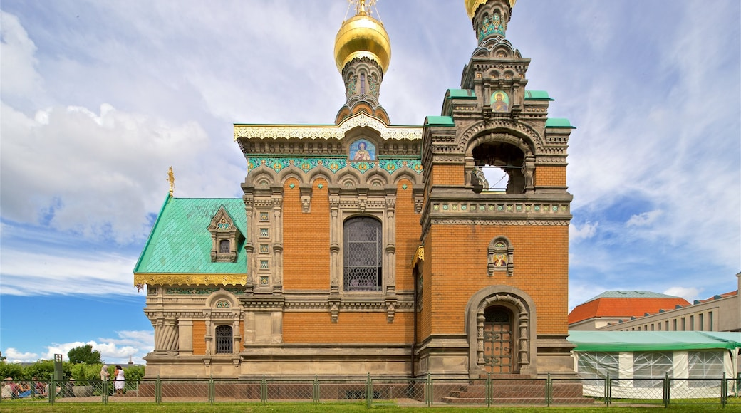 Russian Chapel which includes heritage architecture