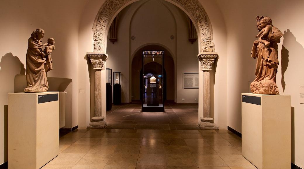 Hessisches Landesmuseum which includes interior views