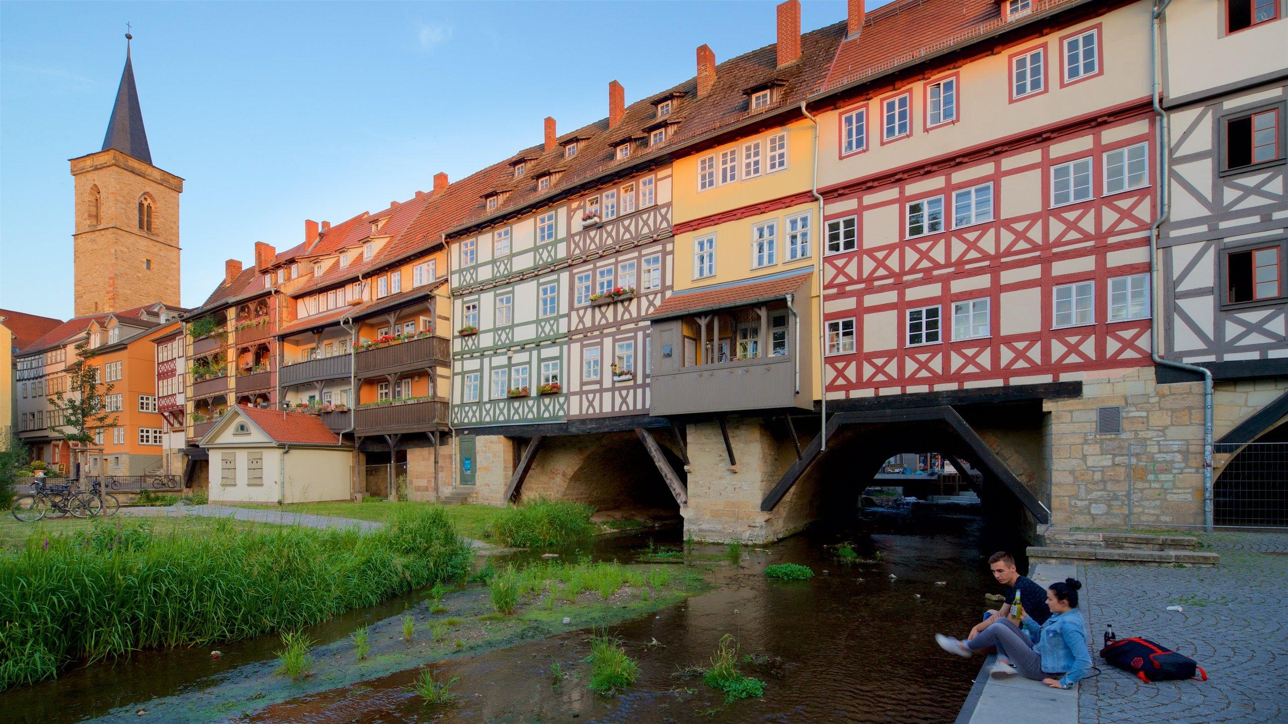 Altstadt Erfurt, Erfurt, Thüringen, Deutschland