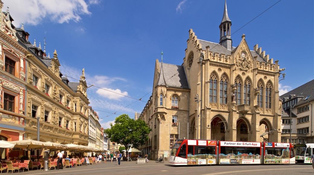 Rathaus welches beinhaltet historische Architektur