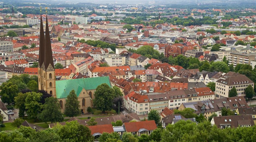 Sparrenburg das einen Stadt, Landschaften und Kirche oder Kathedrale