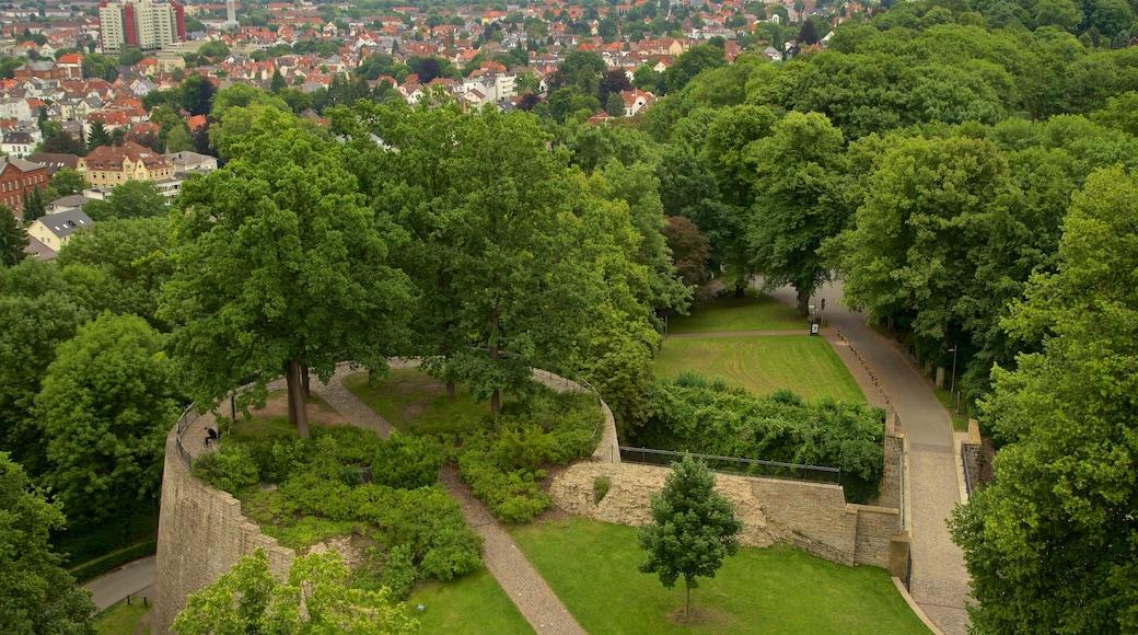Sparrenburg welches beinhaltet Garten, Stadt und Landschaften