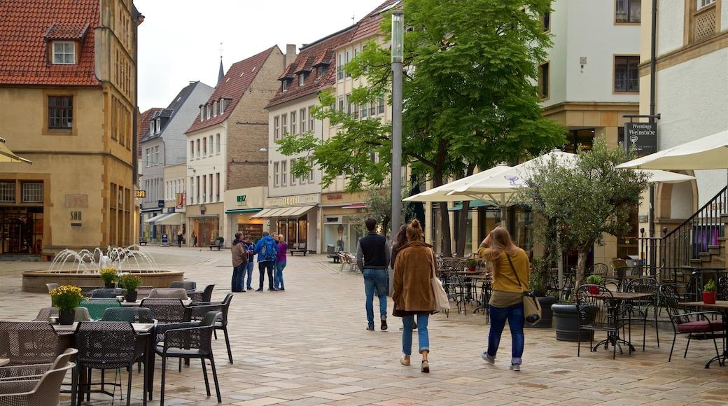 Altmarkt das einen Straßenszenen, Geschichtliches und Stadt