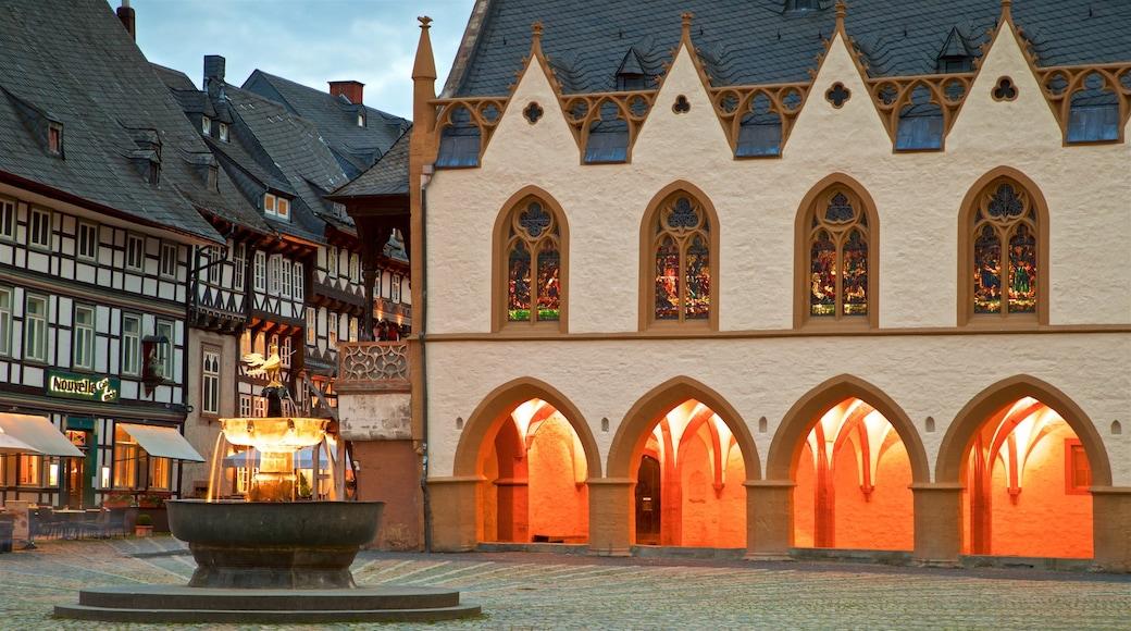 Goslar welches beinhaltet Geschichtliches, Springbrunnen und Stadt