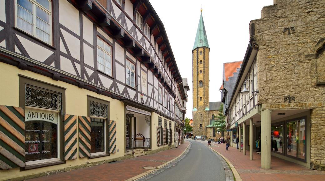 Market Church som omfatter historiske bygningsværker og kulturarvsgenstande