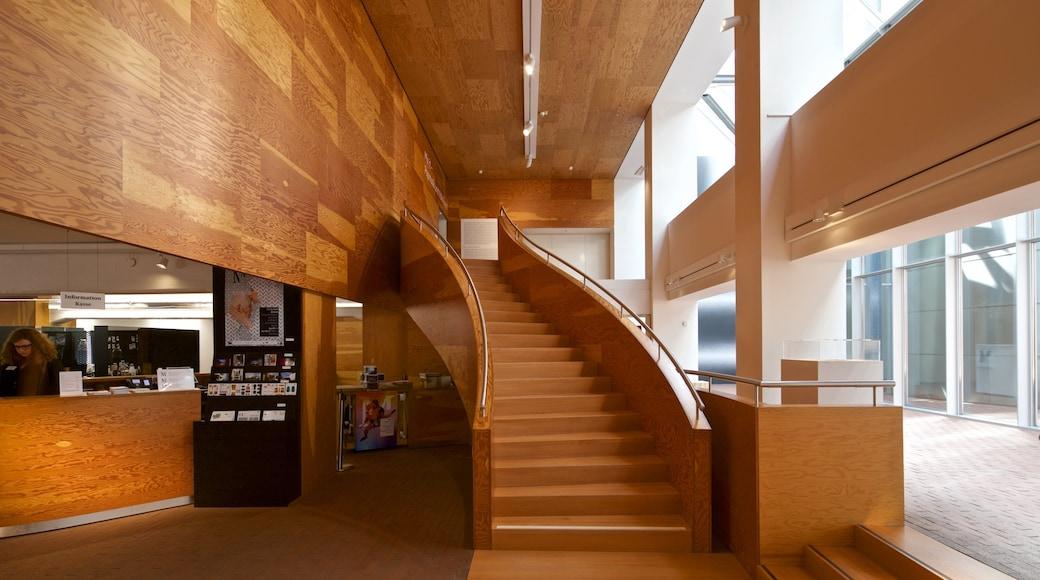 Museum MARTa Herford welches beinhaltet Innenansichten