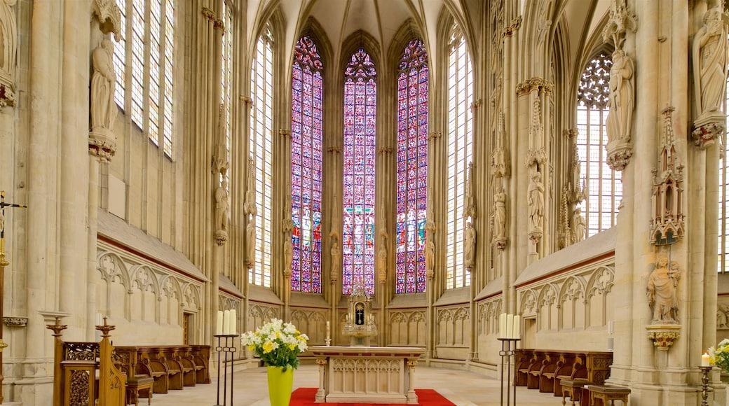 St.-Lamberti-Kirche das einen Innenansichten, Blumen und Kirche oder Kathedrale