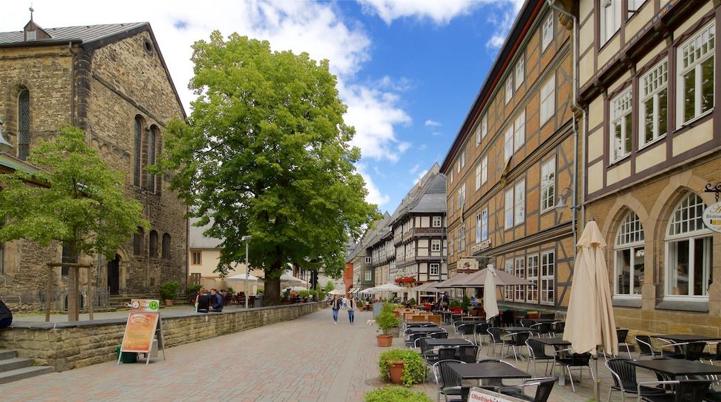 Goslars gamle bydel som omfatter kulturarvsgenstande